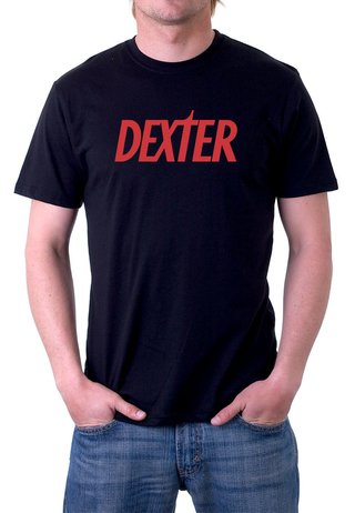 Camiseta Dexter Morgan Serial Killer- 100% Algodão (modelo 1)