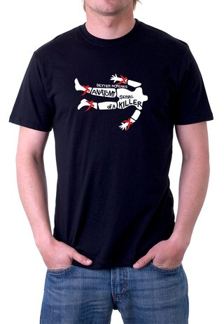 Camiseta Dexter Morgan Serial Killer- 100% Algodão (modelo 2)