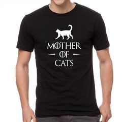 Camiseta Algodão Mother of  Cats Guerra dos Tronos