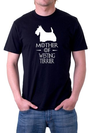 Camiseta Algodão Mother Of Westing Terrier
