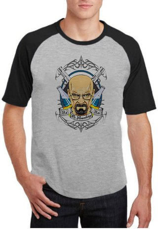 Camiseta Breaking Bad - 100% Poliéster (Modelo 12)