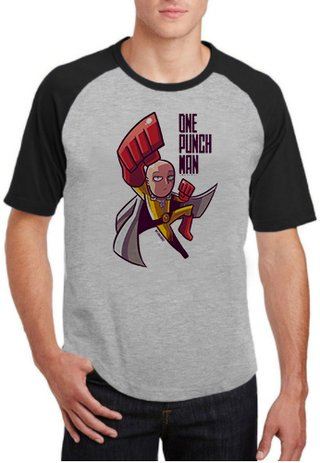 Camiseta One Punch Man Anime  - 100% Poliéster (modelo 2)