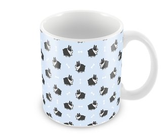 Caneca Boston Terrier