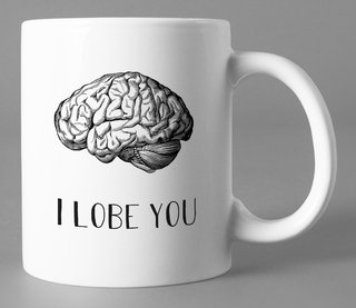 Caneca Branca I lobe you