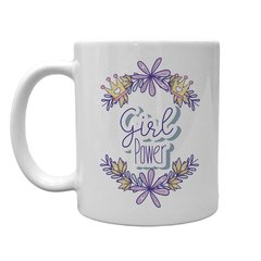 Caneca Branca Girl Power Florida