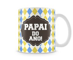 Caneca Branca Papai do Ano