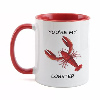 Caneca Vermelha You're my Lobster Série Friends