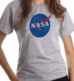 Camiseta ou Baby Look Nasa Geek Tecnologia Astronomia Astronomo - Cartoon Mania