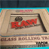 Bandeja Raw Glass Rolling Tray - VaporEver