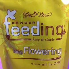 "Powder Feeding ""Long Flowering"" x 125GR, Fertilizantes GreenHouse - Vaporever - comprar online"