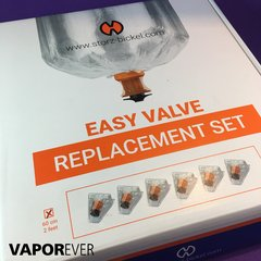 Easy Valve Replacement Set Volcano, x 6 Globos - Vaporever