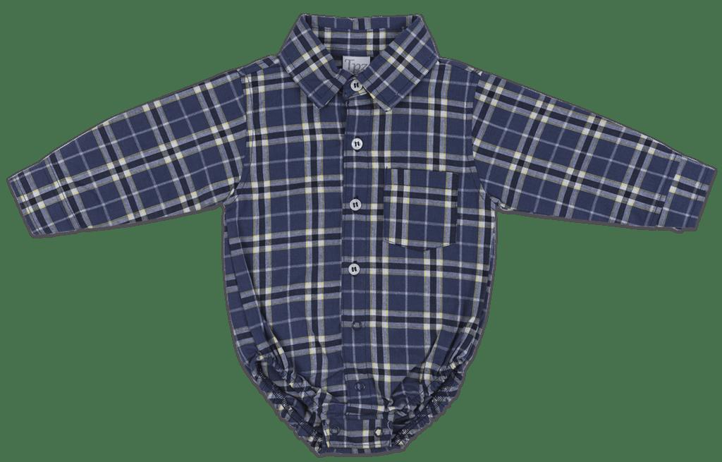 5b148d025d6cf Body Bebê Masculino Xadrez - Comprar em TPZ KIDS