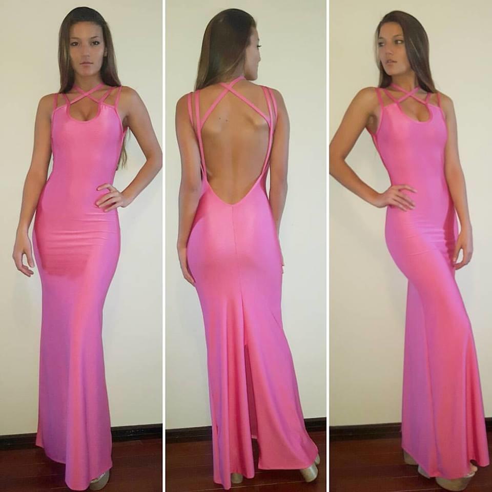 Vestido Largo Faustina - VICTOIRE Diseños Exclusivos