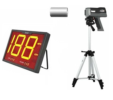 Bushnell Speedscreen Kit Bushnell SpeedScreen Radar Gun Display 10-1922, Speedster 3 Radar - Combo Triplo.