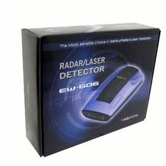 EW606 - 22 x 360° - Detector de Radares Early Warning