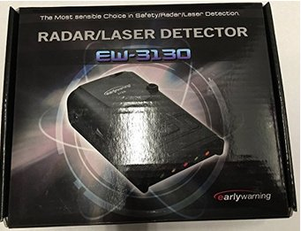 EW-3110/30/40/60 - Detector de Radares Early Warning
