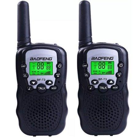 Par De Rádio Walk Talk Comunicador Baofeng Bf T3 A......