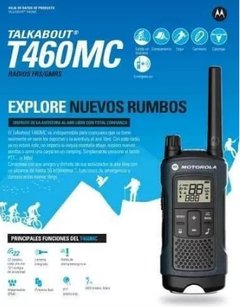 Radio Comunicador 56 km Talkabout Walk Talk Motorola T- 460 MC
