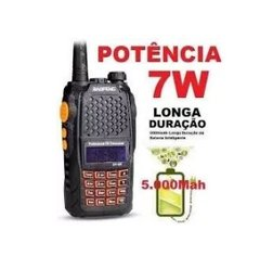 Radio Ht Walk Talk Dual Band Uhf Vhf Comunicador Uv-6r -top