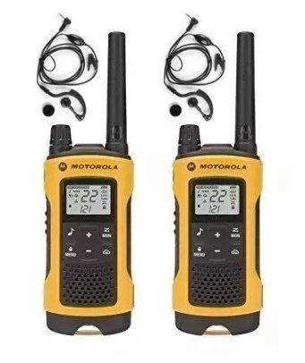 Par Radio Comunicador T400 Motorola Talkabout 56km......