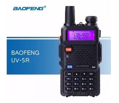 Rádio Comunicador Ht Dual Band Uhf Vhf Uv-5r Fm Fo......
