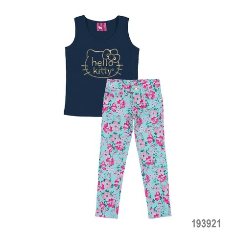 Conjunto Florets Hello Kitty