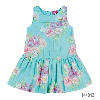 Vestido Flowering Hello Kitty