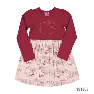 Vestido Paris Hello Kitty