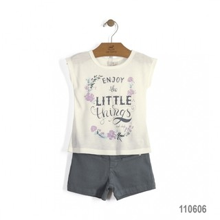 Conjunto Little Things Up Baby