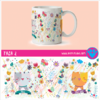 Taza 2 Art Pet Love