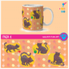 Taza 6 Art Pet Love