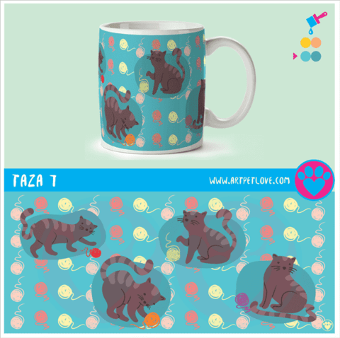 Taza 7 Art Pet Love - comprar online