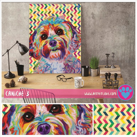 Cuadro Art Pet Love