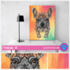 "Cuadro Art Pet Love ""Frenchie""."