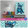 "Cuadro Art Pet Love ""Frenchie"". - comprar online"