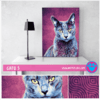 "Cuadro Art Pet Love ""Gato 5""."