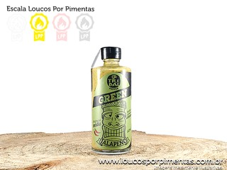 Molho de pimenta Tribal Green - Tribal Pepper (60 ml)