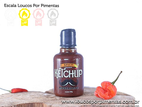 Spicy Ketchup - Mustachio (225 g)