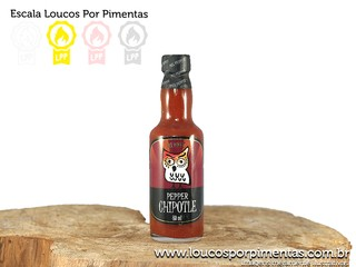 Molho de Pimenta Pepper Chipotle - Mix Pepper (60 ml)
