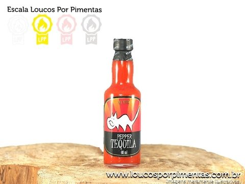Molho de Pimenta Pepper Tequila - Mix Pepper (60 ml)