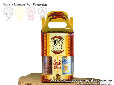 KIT 2 MOLHOS - Roms Sauce (600 ml)