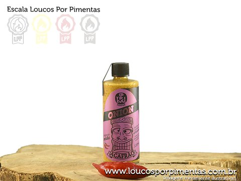 Molho de pimenta Tribal Onion - Tribal Pepper (120 ml)