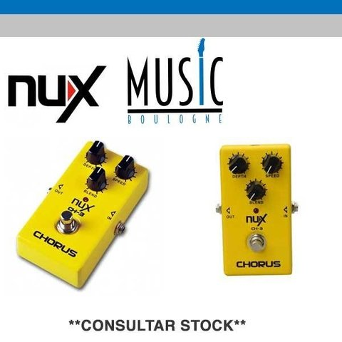 NUX CH-3 Pedal analogo VINTAGE CHORUS, Music Boulogne BRY