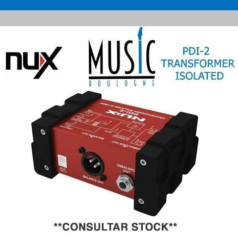 NUX -  PDI-2 - MUSIC BOULOGNE - BY