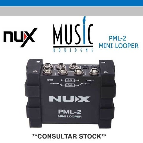 NUX MINI LOOPER PML-2 MUSIC BOULOGNE BY