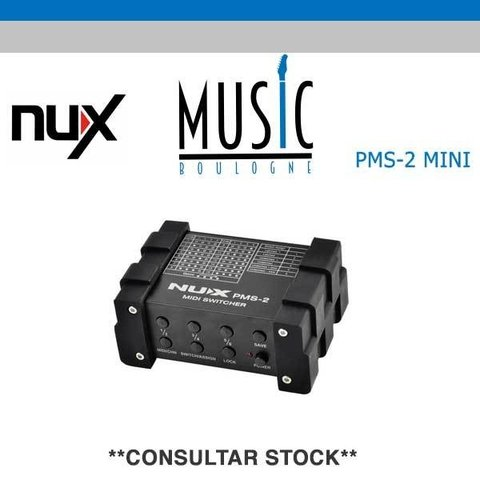 NUX MIDI PMS-2 MUSIC BOULOGNE BY