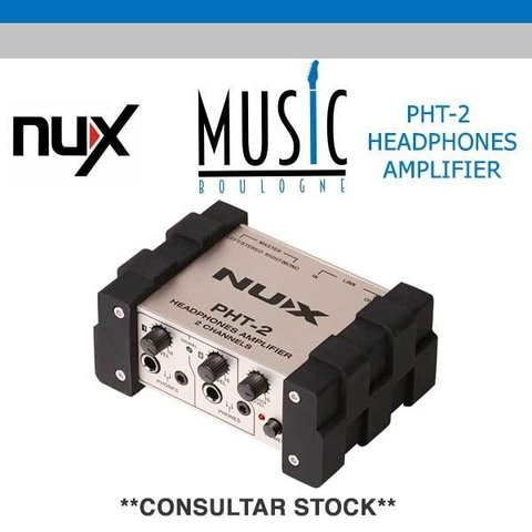 NUX PHT-2 AMPLIFICADOR DE AURICULARES. MUSIC BOULOGNE BY