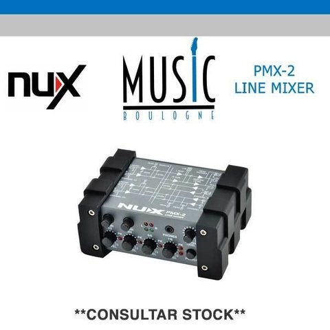 NUX PMX-2U MUSIC BOULOGNE BY