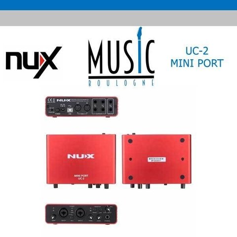 NUX UC-2 MUSIC BOULOGNE BY