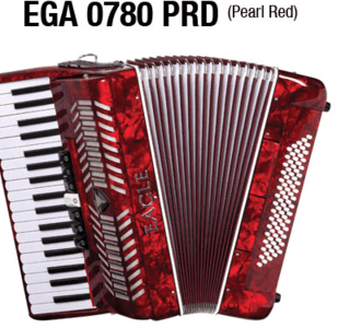 ACORDEON EAGLE EGA 0780